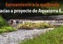 Aquaterra ESP planea la construcción de nuevos colectores de aguas